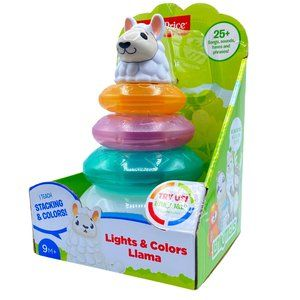 Fisher-Price Linkimals Lights & Colors Llama Stack